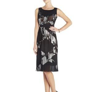 Bcbg Maxazria midi pleated  dress